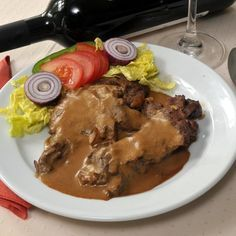 Marhasült római tálban Meat Recipes, Pork, Food And Drink, Beef, Chicken, Kale Stir Fry, Meat, Pork Chops, Steak