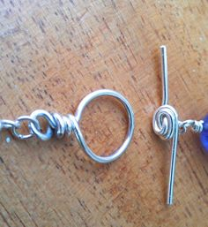 Wire Toggle Clasp | JewelryLessons.com
