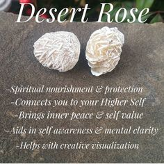 Your place to buy and sell all things handmade Crystals Minerals, Crystals And Gemstones, Stones And Crystals, Crystal Guide, Crystal Magic, Desert Rose Crystal, Gypsum Crystal, Rose Meaning, Meditation Crystals