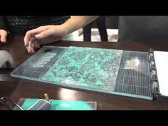▶ CHA2014 - We R Memory Keepers Demos Their Letterpress - YouTube