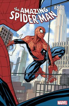 Celebrate AMAZING SPIDER-MANs Landmark 800th Issue with a Variant Cover by Terry Dodson!