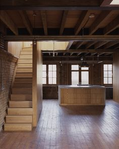 Built by Dow Jones Architects in , United Kingdom A great factory reconversion by British practice Dow Jones Architects with a great mixture of brick, wood and concret...