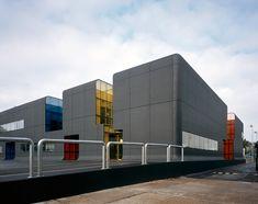 RATP Bus Center in Thiais, France by Emmanuel Combarel Dominique Marrec