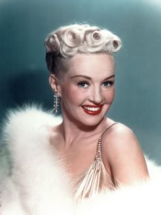 Betty Grable - Loved her !.....She was so talented!!