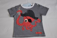 T-Shirts - Piraten Krake - ein Designerstück von lolliundbob bei DaWanda