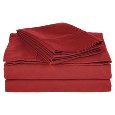 Superior 800 Thread Count Solid Cotton Blend Sheet Set, Blue