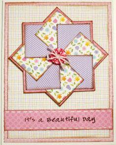 square made flower