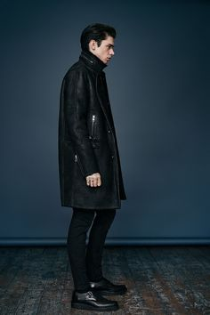 ALLSAINTS: Men's lookbook 2014 September. LOOK 2.