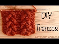 How to knit braided cable Lace Knitting, Knitting Stitches, Knitting Patterns, Knitting Videos, Knitting For Beginners, Crochet Granny, Knit Crochet, Knit Vest Pattern, Knit Leg Warmers