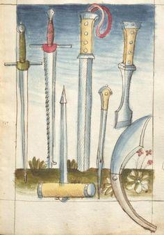 Bellifortis VerfasserKyeser, Conradus  ErschienenElsaß, [um 1460] Ms. germ. qu. 15  Folio 138r
