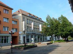 Geschäftshaus mit Perspektiven in der Fußgängerzone von Halberstadt Halberstadt