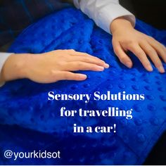 Sensory Tips for Traveling in the Car Pediatric Occupational Therapy, Pediatric Ot, Sensory Diet, Sensory Play, Sensory Processing Disorder Symptoms, Sensory Therapy, Trauma Therapy, Social Anxiety Disorder, Autism Sensory