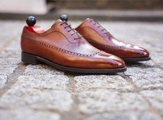 The Sebastien in Auburn calf via MTO. Email Gents Shoes f0849b82c962