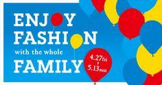 ENJOY FASHION with the whole FAMILY