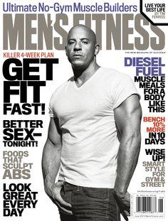 Vin Diesel - Men's Fitness, June 2013