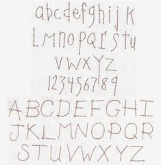 Primitive Alphabet