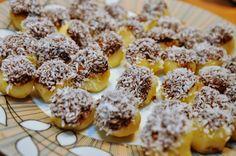 BaBy w kuchni: Ziemniaczane marcepanki *** Marzipan balls - finger food made from potatoes