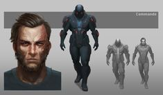 Sci-fi Soldier Concept Art by AndisReinbergs on DeviantArt