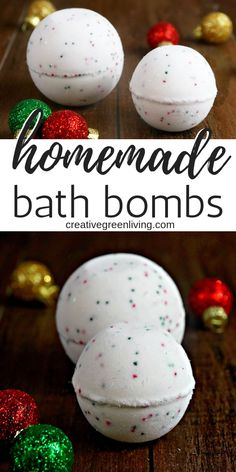 Make DIY bath bombs