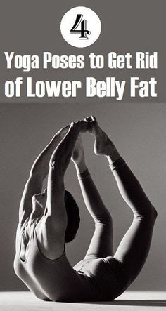 4 Yoga Poses to Get Rid of Lower Belly Fat