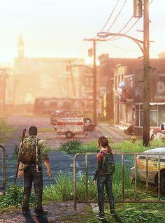 Post-apocalyptic America, The Last of Us, 2013.