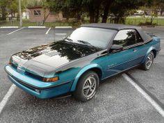 1989 Pontiac Sunbird GT Convertible #pontiac #sunbird #windscreen http://www.windblox.com
