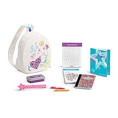 Doodle Backpack Set