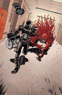 Venom screenshots, images and pictures - Comic Vine Toxin Marvel, Marvel Venom, Marvel X, Marvel Heroes, Comic Villains, Marvel Characters, Marvel Movies, Symbiotes Marvel, Venom Art
