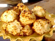 Coconut Macaroons from FoodNetwork.com