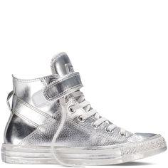 Chuck Taylor All Star Brea Metallic Silver/Silver/Silver silver/silver/silver