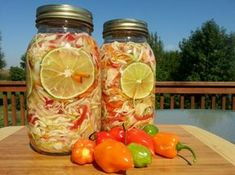 Pikliz.. This crunchy salad of cabbage, carrots and chiles is a relish served as a condiment or side dish at Haitian meals.