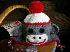 bd4d5e59798 Traditional Sock Monkey Hat pattern by Elizabeth Pardue