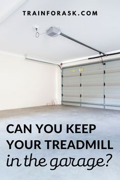 Can A Treadmill Be Stored in a Garage?It can be difficult to find an adequate spot to put your treadmill inside your house due to a multitude of reasons. This leads people to default to where they put most other things that don't fit inside the house; a garage or a shed. Jogging For Beginners, Running Plan, Running For Beginners, Running Tips, Garage Door Insulation Kit, Clean Garage, Folding Treadmill, Sell House, Runner Problems