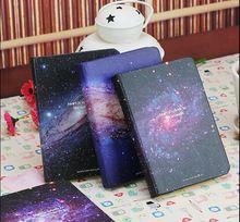 2016 Cute The Galaxy Notebook Kawaii Diary Memo Notepad Korean Sketchbook School Supplies Stationery(China (Mainland))