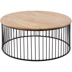 Teak and Metal Carousel Short Side Table ($973) ❤ liked on Polyvore featuring home, furniture, tables, accent tables, metal table, teak side table, outdoor side table, outside table and metal occasional tables
