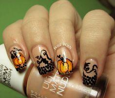 Nail Wish: Halloween Challenge #7: Pumpkins