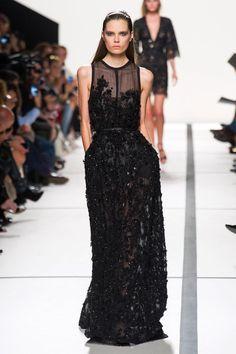 black sparkly gown (Elie Saab Spring 2014)