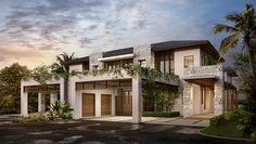 Tropical Modern House by Synergy Design Studio - www.synergy-arch.com