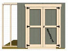 double shed doors http://smallhousediy.com/category/small-house/