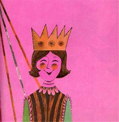 Tom Vroman «A Very, Very Special Day» - Written by Frances Ullmann DeArmand - Parent's Magazine Press book, 1963 - #vintages illustration #Tom Vroman #children's books