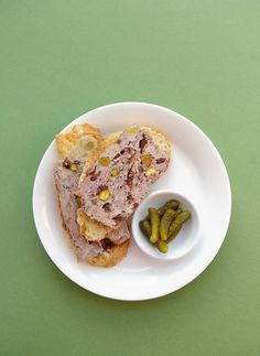 Chicken and pistachio terrine