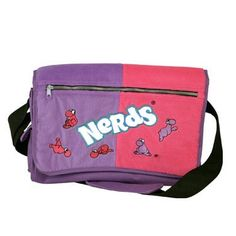 Nerds Candy Messenger Bag Nerds Candy, Sugar Candy, Nerd Herd, Candy Store, Food Gifts, Pixie, Messenger Bag, Abs, Corner