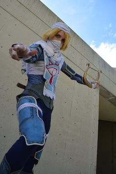 Sheik's Attack - Lyre by VFire