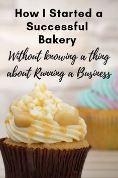 True story, no culinary degree, no experience, no business degree and somehow I pulled it off and made my first year. Starting a bakery business is no joke, but I am going to tell you all about opening a bakery. Bakery Business Plan, Baking Business, Catering Business, Business Ideas, Business Help, Business Inspiration, Cupcakes, Cupcake Cakes, Small Bakery