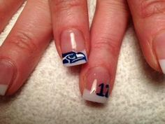 Go Seattle Seahawks!!! I can see several of my nursey friends with these...