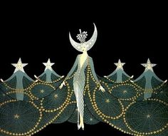Queen of the Night - Erte