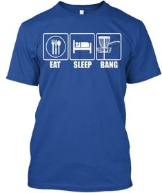Funny Mens disc golf eat sleep bang chains basket humor t-shirt. this tee makes a great christmas gift this holiday season for your boyfriend or husband who plays discgolf Public Golf Courses, Best Golf Courses, Golf T Shirts, Tee Shirts, Tees, Golf Etiquette, Golf Ball Crafts, Golf Training Aids, Golf Quotes