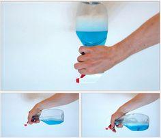 Modificación a una botella dosificadora para que siempre funcione sin importar si posición | La Guarida Geek