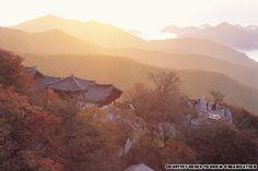 Boriam (보리암) in Damyang-gun, Jeollanam-do, Korea