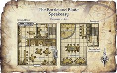 Fantasy Tavern Map Pulled from the adventure a